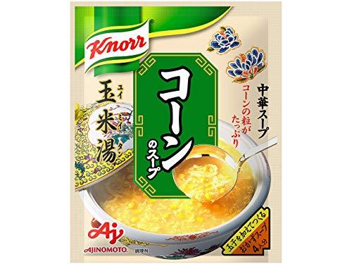 味の素 クノール 中華スープ コーンのスープ 64g×5個