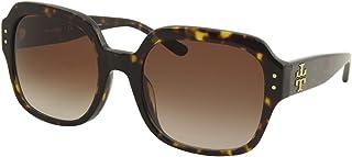 Tory Burch TY7143U Square Sunglasses 56 mm Dark Tortoise/Lite Brown/Dark Brown Gradient One Size