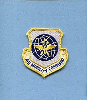 Embroidered Patch-Patches for Women Man- AMC AIR Mobility Command USAF AS Transport