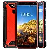Getnord Leo Rugged Waterproof Outdoor Smartphone, IP68, Shockproof, Waterproof, 5000mAh, Helio P23 OctaCore, 4GB RAM, 64GB ROM, 16MPX Kamera, 5.72'' IPS Hi-Res Screen