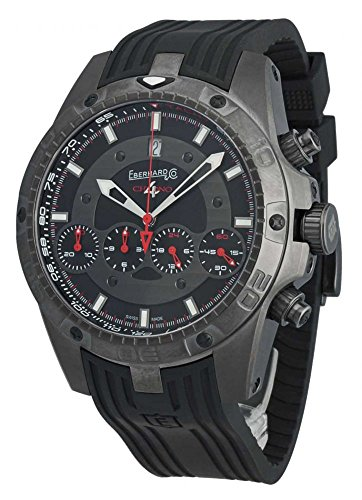 Eberhard & Co Herren-Armbanduhr Chrono 4 Géant Full Injection Limited Edition Datum Chronograph Analog Automatik 31062.1 CU