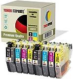 8 XL TONER EXPERTE® LC3213 Druckerpatronen kompatibel für Brother DCP-J572DW, DCP-J772DW, DCP-J774DW, MFC-J491DW, MFC-J497DW, MFC-J890DW, MFC-J895DW (2 Schwarz, 2 Cyan, 2 Magenta, 2 Gelb)