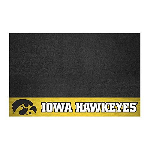 FANMATS - 12120 NCAA University of Iowa Hawkeyes Vinyl Grill Mat
