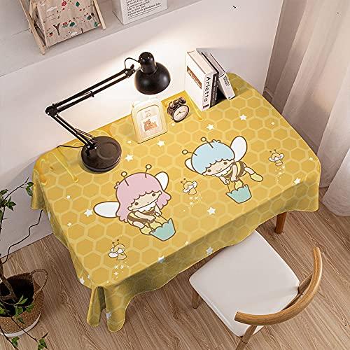Tovaglia lavabile per cucina, tavolo da pranzo, buffet decorativo, lavabile, grande tovaglia allungabile, 60 x 90 cm