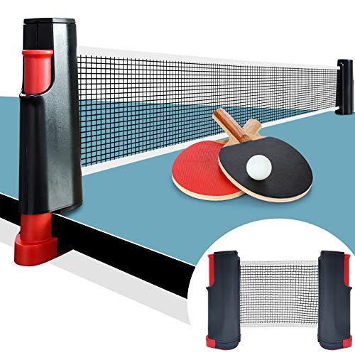 Red de Tenis de Mesa,Red de Tenis de Mesa portátil libremente Ajustable,Apto para Todas Las mesas de Tenis de Mesa