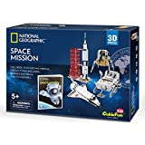 CubicFun 3D Puzzle National Geographic NASA Space Mission Modelo de Juego de Juguete con folleto