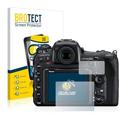 brotect Protection Ecran Verre Compatible avec Nikon D500 Film Protecteur Vitre 9H Anti-Rayures, AirGlass