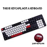 104 Tasten/Set SA Höhe Keycaps Double Shot Backlit Ball Pbt Carbo Key Caps for Cherry MX Mechanical...