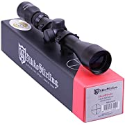 Nikko Stirling Mountmaster 3-9x40 Mil Dot Zoom Riflescope With Mounts NMC3940 Airgun Rifle Scope Sight Suits Most Modern Air Arms, BSA, Crosman, Gamo, Weihrauch etc. & Most Modern .22 Rimfire Rifles