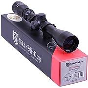 Nikko Stirling Mountmaster 3-9x40 Mil Dot Zoom Riflescope With Mounts NMC3940 Airgun Rifle Scope Sight Suits Most Modern Air Arms, BSA, Crosman, Gamo, Weihrauch etc. & Most Modern .22 Rimfire Rifles
