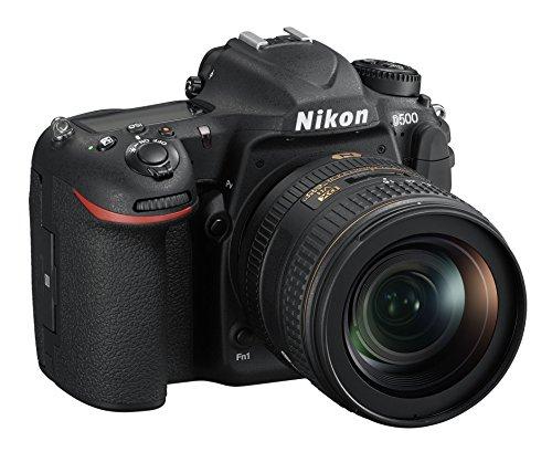 Nikon D500 - Cuerpo de cámara réflex Digital DX, 21,51Mpx, Pantalla táctil LCD inclinable, AF de 153Puntos, vídeo 4K/UHD, SD Pro 633x 16GB Lexar, Color Negro-