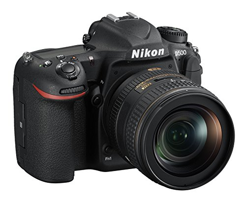Nikon D500 + Nikkor AF-S DX 16-80mm VR , Fotocamera Reflex Digitale DX, 21,51 Megapixel, LCD Touchscreen Inclinabile, AF 153 punti, Video 4K/UHD, SD Pro 633x 16GB Lexar, Colore Nero [Nital Card: 4 Anni di Garanzia]