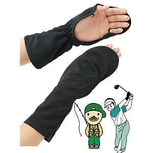 UVカット ハンドカバー 男女兼用 手甲 釣り ゴルフ テニス 日焼け防止 メンズL