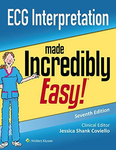 ECG Interpretation Made Incredibly Easy Incredibly Easy Series product image
