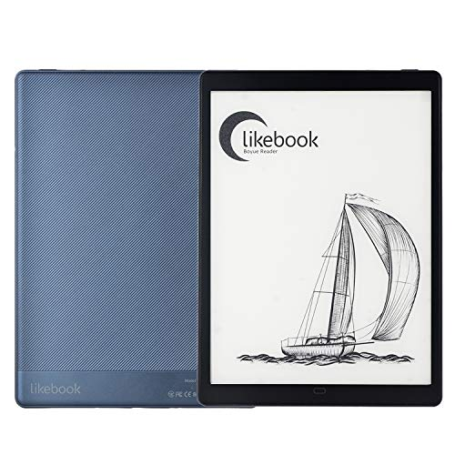 """Likebook P10 E-Reader,10"""" E-Ink Tablet Paperwhite Reader with Adjustable Front Light,Cold /Warm Light ,Android 8.1,2GB Ram+64GB ,Dual Touch, Hand Writing ,Support WiFi OTG Type C"""