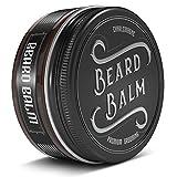•GANADOR DEL TEST 1,1• Charlemagne Beard Balm - Bálsamo para la barba 100% Natural - Cera para la barba Premium -Crema para la barba desarrollada por barberos -Pomada y cera para la barba para hombres