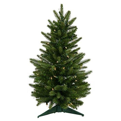 Vickerman 2' Pre-Lit Frasier Fir Artificial Christmas Tree - Clear Lights