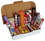 CAPTAIN PACK® Snack Box mit verschiedenen Schokoriegeln (20-teilig)