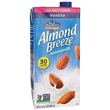Blue Diamond Almond Milk Vanilla Unsweetened 32 Fl Oz