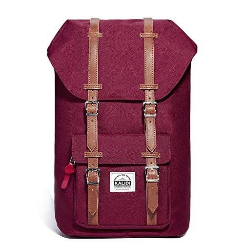 KALIDI 17 Zoll Laptop Rucksack Backpack Schulrucksack für bis zu 15.6 Zoll Laptop Notebook Computer...