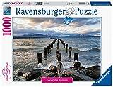 Ravensburger Puzzle, Puzzle 1000 Piezas, Puerto Natales - Chile, Puzzles para Adultos, Puzzles Paisajes, Rompecabezas Ravensburger de Alta Calidad
