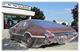 Inline Tube 5 PACK Clear Plastic Temporary Universal Disposable Car Cover Rain Dust Garage