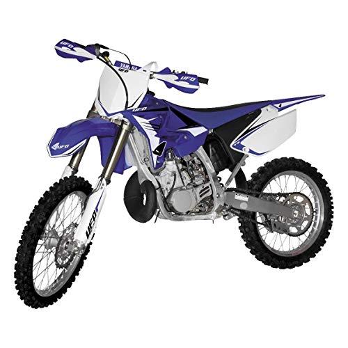 UFO Yamaha Restyle Kit (White/Blue (02-12 OEM)) for 02-14 Yamaha YZ250