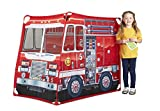 Melissa & Doug Fire Truck Fabric Play Tent and Storage Tote