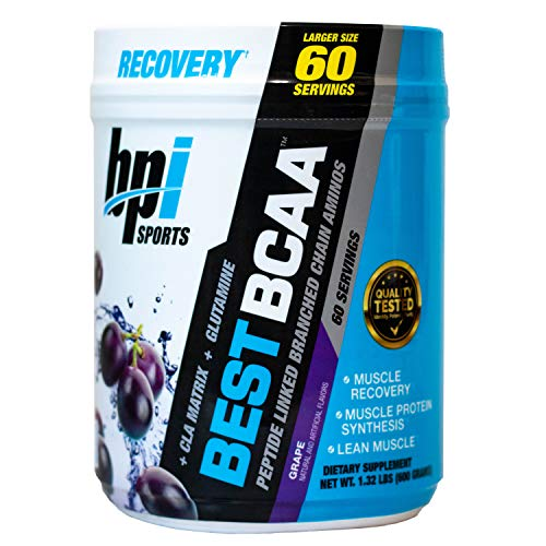 BPI Sports Best BCAA, Grape, 60-Count