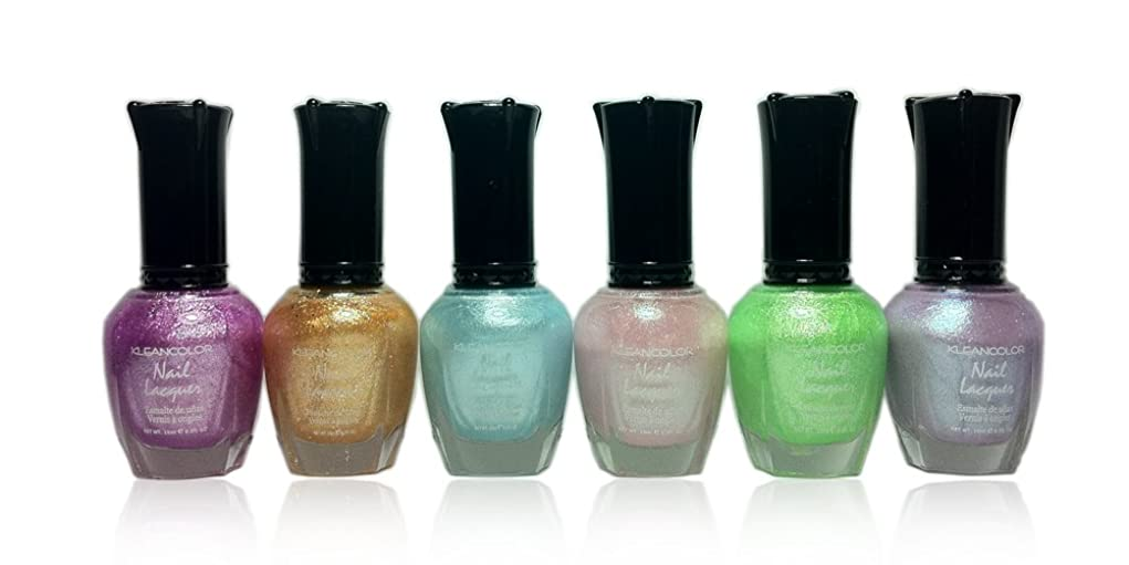 リムウィスキーブームKLEANCOLOR Nail Lacquer 4 - Love is in The Air (並行輸入品)