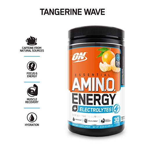 Optimum Nutrition Essential Amino Energy + Electrolytes review