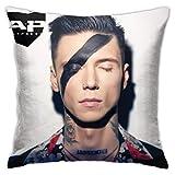 Wbenda Andy Biersack Pillowcase Cushion Cover Pillowcase Sofa Home Decoration 18' X 18' Inches (45 X 45cm)
