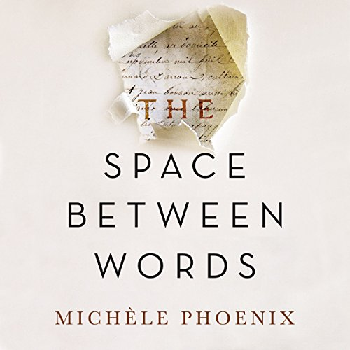 The Space Between Words audiobook cover art
