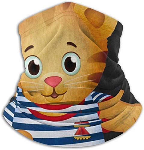 NR Daniel Tiger Fleece Neck Warmer Inverno Warm Neck Warmer Maschera antivento per uomo Donna