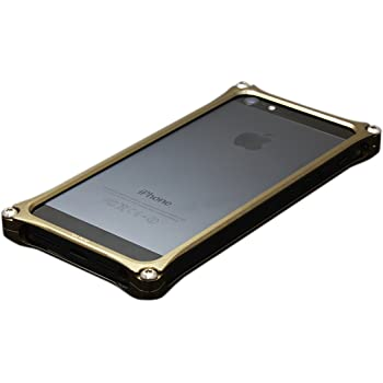 Gild design 【iPhone5対応アルミバンパー】 ソリッドバンパー for iPhone5 チタン GI-222T
