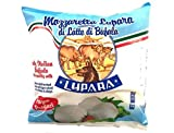 4 PACK FROZEN Buffalo Mozzarella | Made with 100% Water Buffalo Milk | Product of Italy | 4 PACK x 320 g (16 balls x 20 g per bag) Lupara Brand