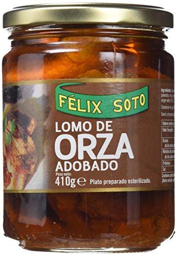 Félix Soto, Conserva de carne de cerdo (Lomo de Orza) - 3 de 450 gr. (Total 1350 gr.)