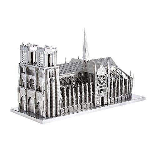 IconX- Catedral Notre Dame de Paris, Color Plata (Fascinations ICX003)