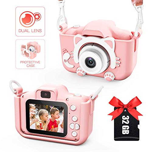 Sinohrd Kids Camera for Girls an...