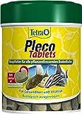 *Tetra Pleco Tablets – Nährstoffreiches Hauptfutter für alle pflanzenfressenden Bodenfische (z.B. Welse), verschiedene Größen