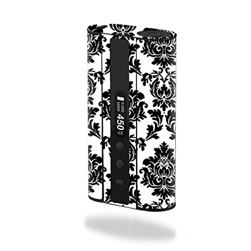 MightySkins Skin Compatible with Eleaf iStick 100W TC – Vintage Damask | Protective, Durable, and Unique Vinyl Decal wrap Cover | Easy to Apply, Remove, and Change Styles | Made in The USA