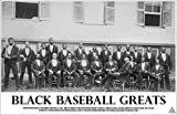 Empire Merchandising Poster de baseball Noir 43 x 28 cm