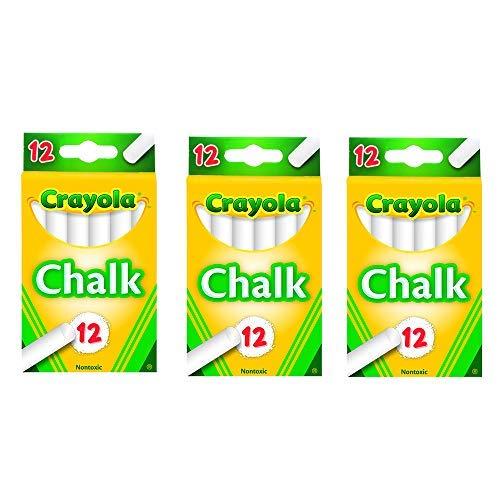 White Chalk 12 Each (3 Pack)