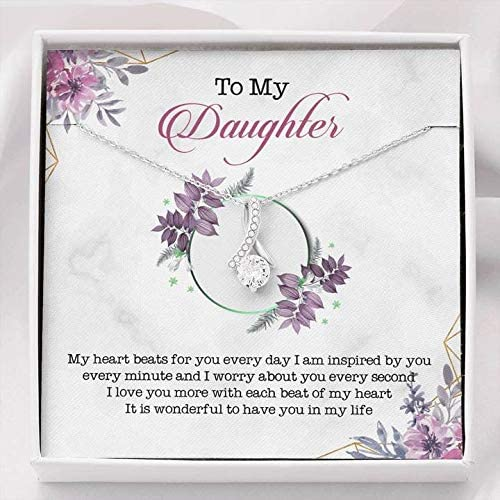 To My Daughter Gifts - For Necklace for Birthday Popular shop is the Manufacturer regenerated product lowest price challenge Gift