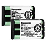 2PACK Cordless Phone NI-MH AAA Rechargeable Battery for Panasonic HHR-P104 3.6V 830mAh Replacement Battery