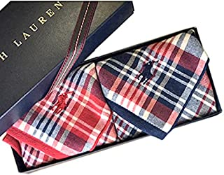 Ralph Lauren ラルフローレン ハンドタオル タオルハンカチ ギフトBOX付きハンドタオル2枚セット (チェックセット)