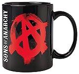 Empire Merchandising 667670Sons of Anarchy Anarchy–Tazza in Ceramica, Diametro 8,5cm, Altezza 9,5cm