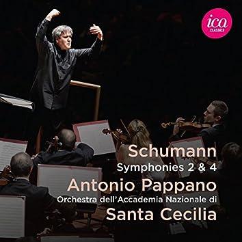 Schumann: Symphonies Nos. 2 & 4 (Live)