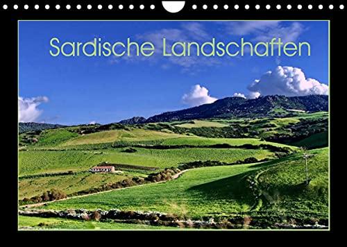 Sardische Landschaften (Wandkalender 2022 DIN A4 quer)