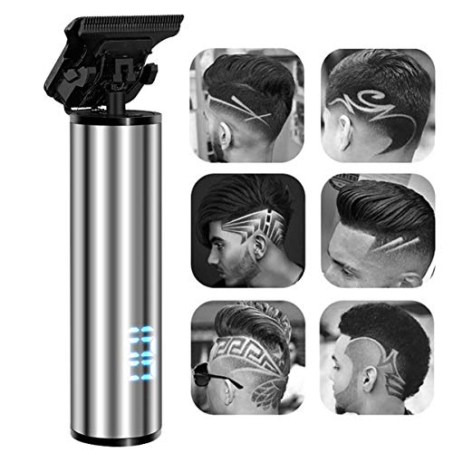 Tondeuses, Professional Cordless Hair Trimmer USB oplaadbare voor mannen Hair Clippers Zero Gapped Detail Beard Shaver